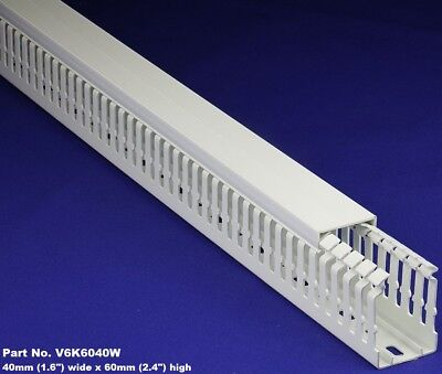 20 Sets-1.5x2x2m White High Density Premium Wiring Ducts And Covers -ulcsace