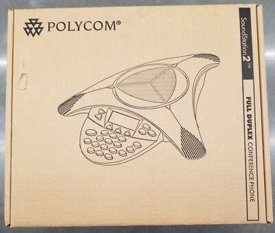 Polycom Soundstation 2 Full Duplex Conference Phone  2201-16000-001