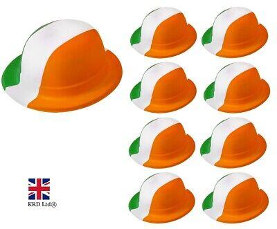 ER HATS St Patrick`s Day Hat Ireland Flag Fancy Dress LOT UK (St Patrick Hats)