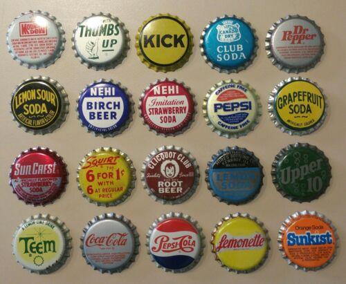 Lot of 20 unused bottle caps (Lot #4)