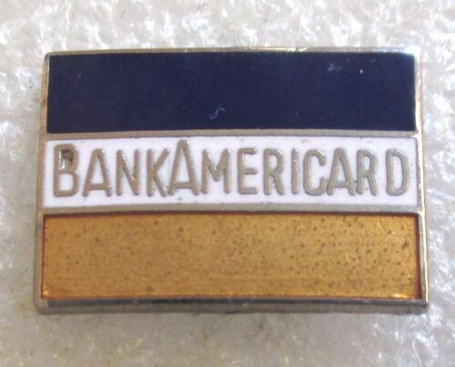 Vintage Bank of America BankAmericard Credit Card VISA Advertising Lapel Pin