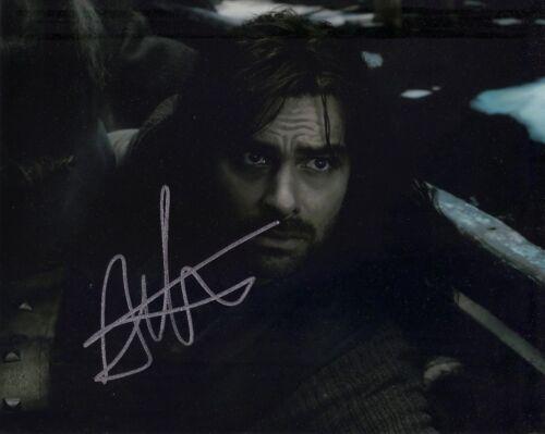Aidan Turner SIGNED 10X8 PHOTO The Hobbit Genuine AFTAL COA (5593)