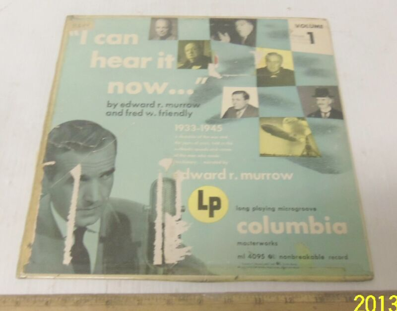 """I can hear it now..."" 1933 to 1945 - Volume 1"