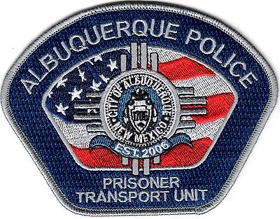 Albuquerque Police Prisoner Transport Unit New Mexico patch NEW