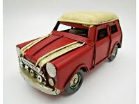 weiß 29cm Citroen Oldtimer Blechmodell Metall Modell Auto Deko Sammler Geschenk