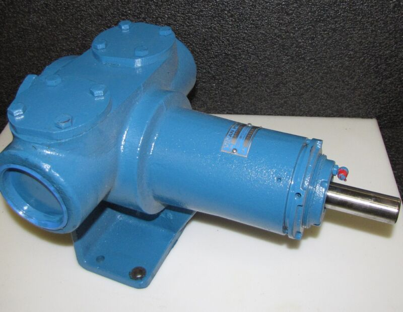 Vican AK-190 Rotary Gear Positive Displacement Pump *new* Idex