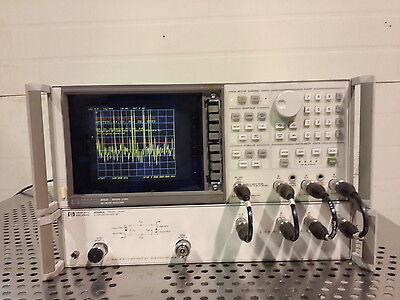 Hp Agilent 8753c Network Analyzer With 85046a S-parameter Test Set
