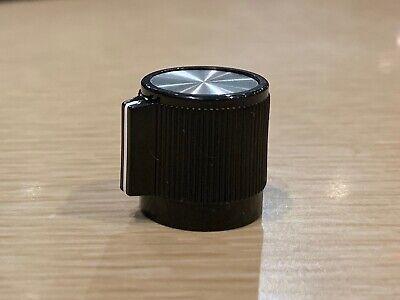 Brand New - Rogan Rb67 - Black Control Knob - Aluminum Insert - White Indicator
