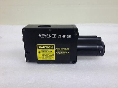 Keyence Lt-8120 Laser Displacement Meter Sensor