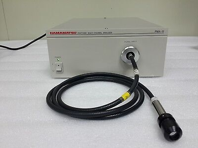 Hamamatsu C5966-71 Pma-11 Photonic Multi-channel Analyzer