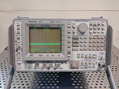 Tektronix 2794 High Performance 10khz To 21ghz Spectrum Analyzer