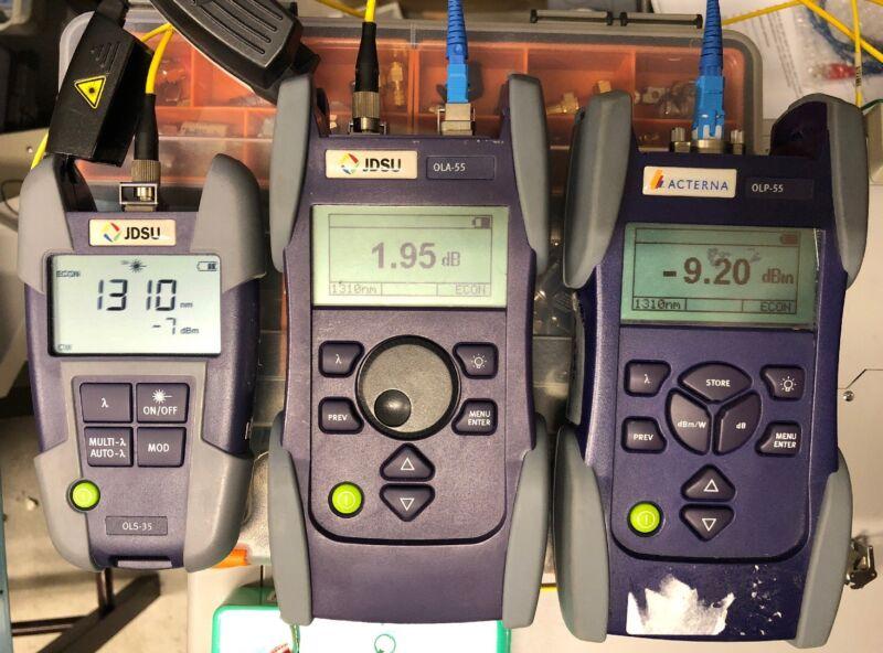 JDSU OLA-55 Optical Level Attenuator - 30 Day Warranty