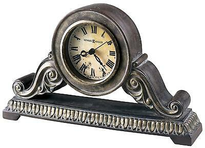 Howard Miller Sylvia Table Clock Model 645-533  Roman Numerals Tabletop Mantel
