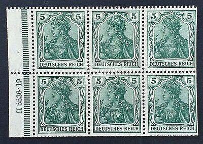 Deutsches Reich postfrisch Mi.Nr. IIa A Heftchenblatt Germania HAN 5536.19