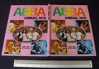 ABBA Annual 1978 Vintage. Classic Pop Annual - Pure ABBA Content