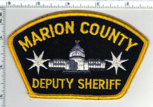 Marion County Deputy Sheriff (Oregon) 2nd Issue Shoulder Patch