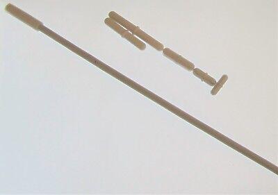 Set 5 Magnetic Stirrer Bar Stir Mixer Bars Ptfe 1 To 2.5 12.5 Retriever New