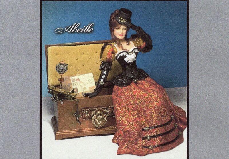 1:12 scale Miniature Doll Art Tutorials ~ Patterns~Clothes//Hair///& more SAPHYRE