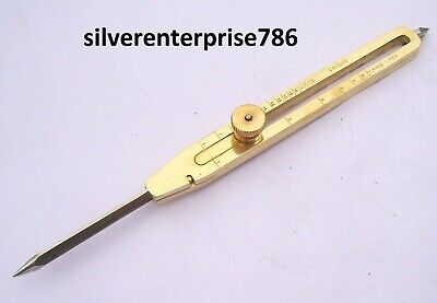 Solid Brass Divider Drafting Proportional Tool Engineer 9