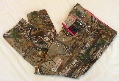 NWT Women's Sz 16 REALTREE Xtra Camo 5-Pocket Jeans Hunting Cotton Comfy Gift
