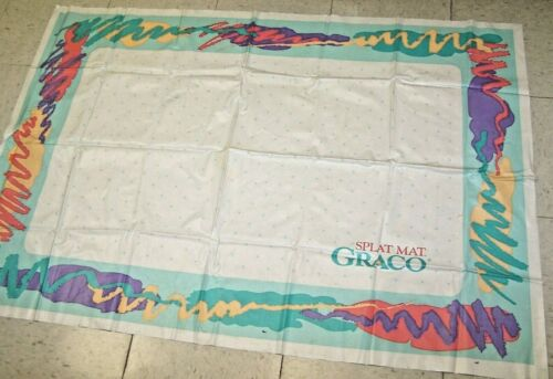 Vintage Graco Splat Mat for Babies and Toddlers