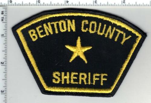Benton County Sheriff (Oregon) 1st Issue Shoulder Patch