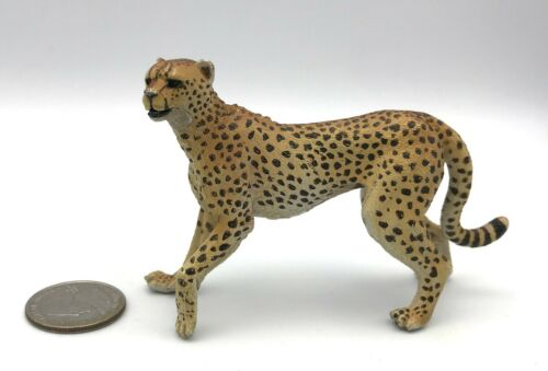 Papo Male CHEETAH Adult Wildlife Animal Figure Retired 2004