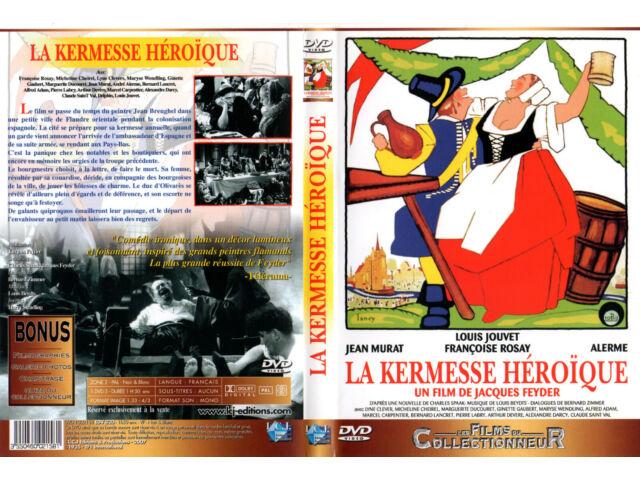 DVD - LA KERMESSE HEROIQUE - L.Jouvet, F.Rosay, J.Murat, Alerme, J.Feyder