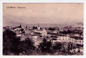 Cartolina-Vill-Albese-Como-Panorama-1915-circa