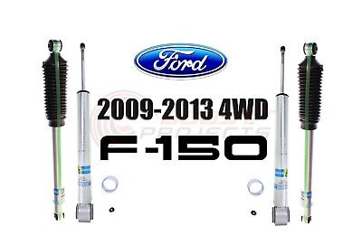 Bilstein B8 5100 Adjustable Front Shocks w/ Rear Set For 09-13 Ford F-150