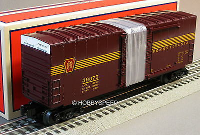 LIONEL NS HERITAGE PRR HIGH CUBE BOXCAR 6-30213 train tuscan 5 stripe 6-39375
