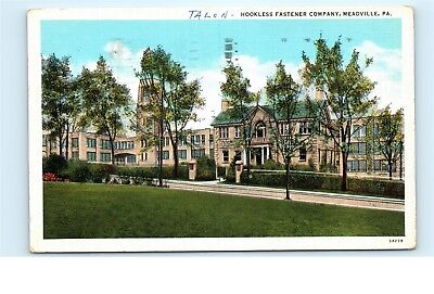 Talon Zipper Hookless Fastener Company Meadville PA 1970s Vintage Postcard C66 for sale  Shipping to Canada