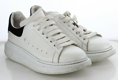 23-44 MSRP $490 Women's Size 41 D Alexander Mcqueen Oversized Leather Sneaker