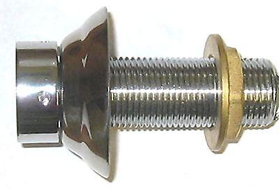 3 Shank - Beer Parts - Kegerator Tap Keg Shank - Stainless Steel Flange-4333af