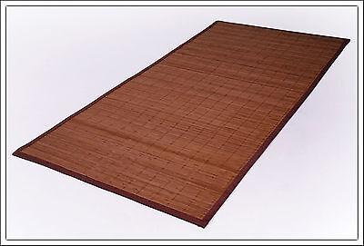 Bambus Teppich 230 x 160 cm - 5 mm Bambusbreite - Bambusteppich Badteppich Matte