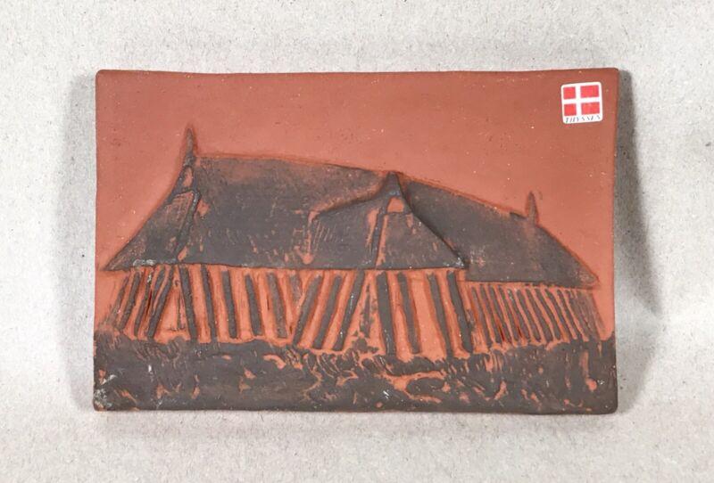 Vintage Thyssen Keramik DanmarkTerracotta Clay Tile