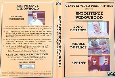 Any Distance Widowhood  Dvd Racing Pigeon Dvd