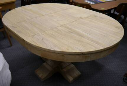 New Provincial Rustic Recycled Timber Extension Dining Tables