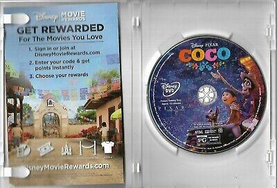 """Disney & Pixar's """"Coco"""" (DVD, 2018, Widescreen) ShipsFREE!"""