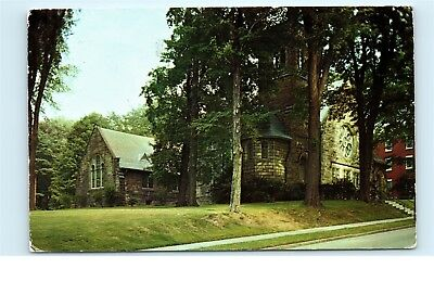 Allegheny College Meadville PA Ford Memorial Chapel Church Vintage Postcard C63 for sale  Shipping to Canada