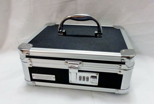 NEW VAULTZ CASH MONEY LOCK BOX WITH PERSONALIZED COMBINATION LOCK NO KEY NEEDED