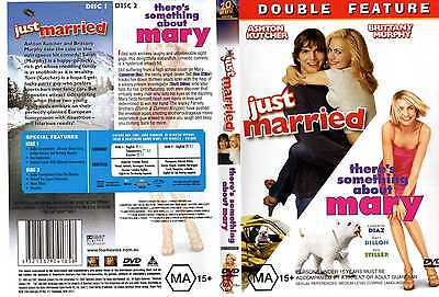 JUST MARRIED / THERE'S SOMETHING ABOUT MARY - 2 x DVD set - NEW - Never played!!
