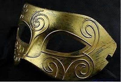 BRONZE /& GOLD Venetian style Masquerade MaskFancy Dress party