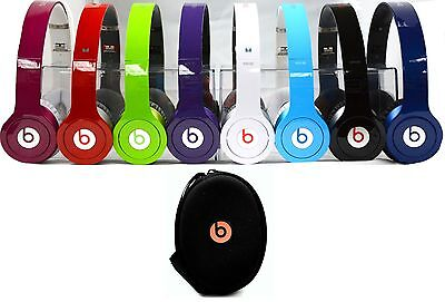 [58% Off] Beats Solo HD By Dr. Dre Beats Solo HD On-Ear Genuine Headphones with Case. Now $74.99 (was  $179.99)
