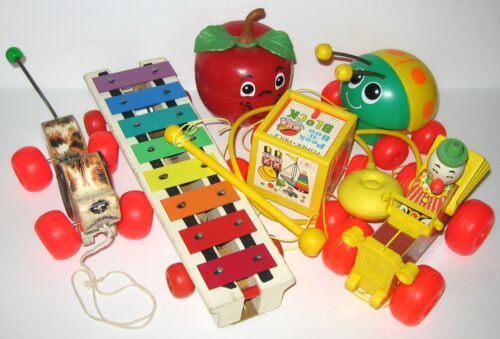 Vintage Fisher Price Toy Lot