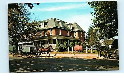 *Zimmerman's General Store Amish Wagons Pennsylvania Vintage Postcard C05