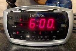 EMERSON RESEARCH DIGITAL SMARTSET AM/FM RADIO ALARM CLOCK CKS3030 Works GREAT!