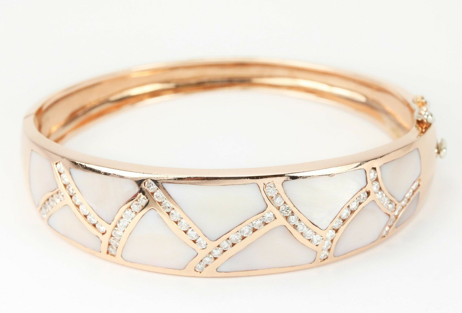 collections rose bangle gold tiff b plated bangles at bracelet brclt star for bracelets with anny gabriella all stainless cz steel shop ny products