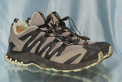 38ffc9805 Nice SALOMON Gray Black Green XA3D Ultra 2 Shoes Sz US 8 UK 6.5 EU 40 Japan  25