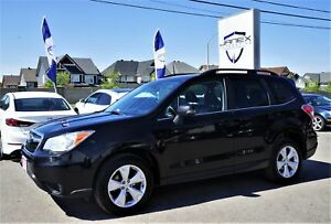 2014 Subaru Forester 2.5i Limited Package ONE OWNER | SUN-ROO...